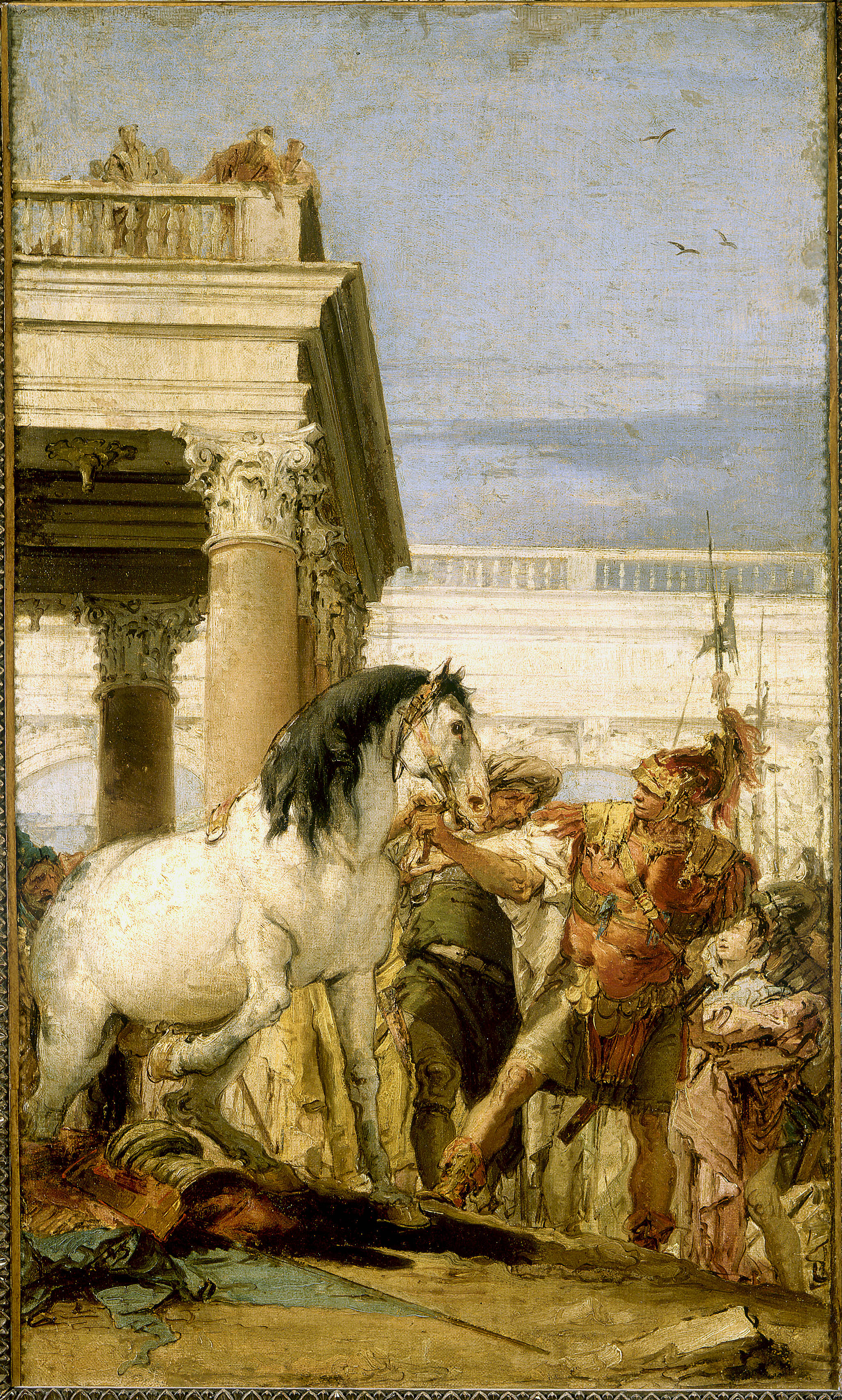Giambattista Tiepolo - Alexandre et Bucéphale