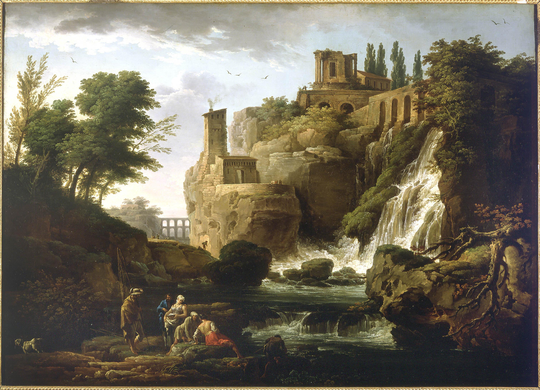 Claude Joseph Vernet - Les Cascatelles de Tivoli